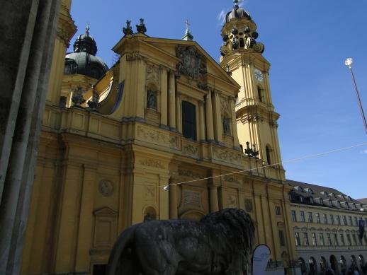 Theatinerkirche St. Kajetan - Munique, Alemanha