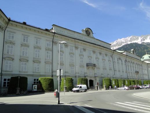 Palácio Hofburg - Innsbruck, Áustria