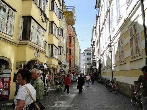Centrinho comercial - Innsbruck, Áustria