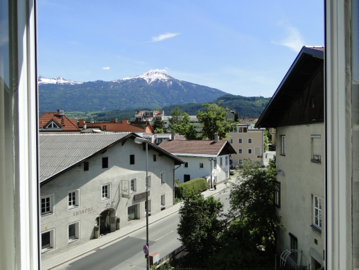 Vista do quarto para os Alpes - Hotel Altpradl
