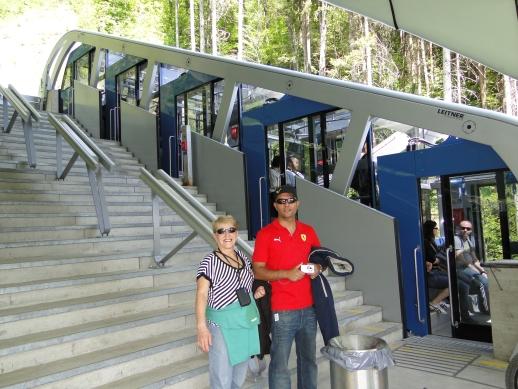 Montanha Nordkette - Funicular